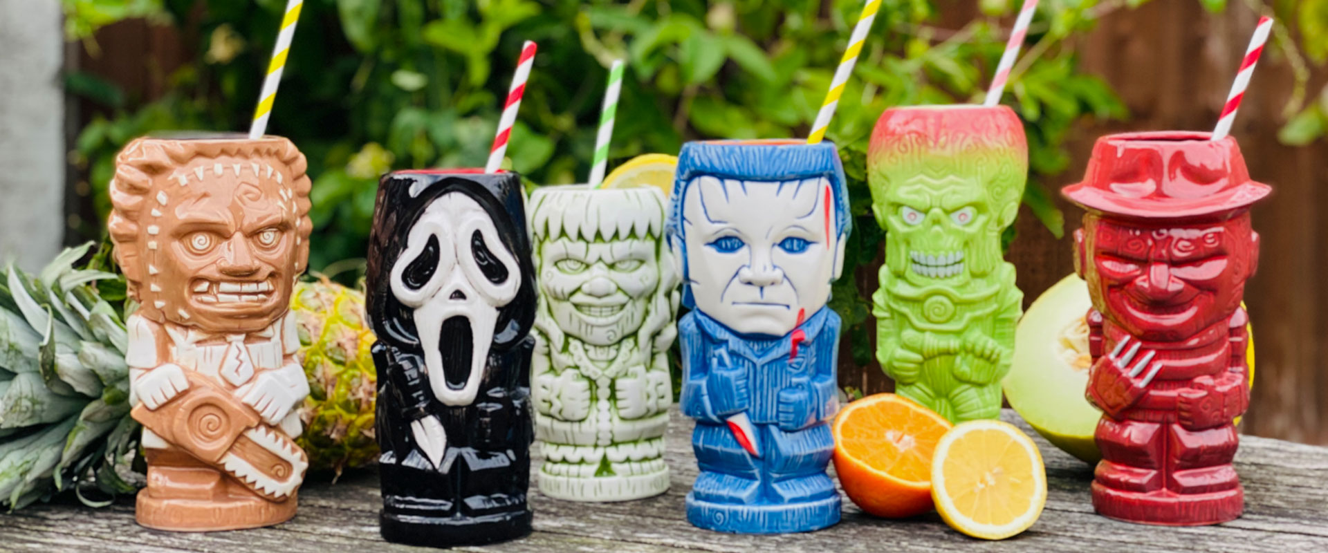 Spine-Tingling Horror-Themed Cocktails Bring Your Geeki Tiki to Life!