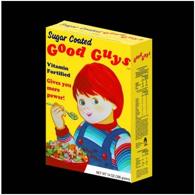 Child's Play 2 - Good Guys Cereal Box