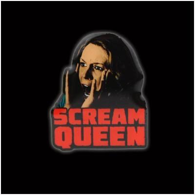 Creepy Co. Halloween Scream Queen Pin