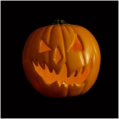 Halloween 6 Light Up Pumpkin
