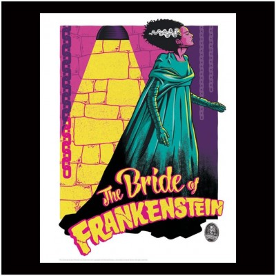 Limited Edition Universal Monsters Print - Bride of Frankenstein