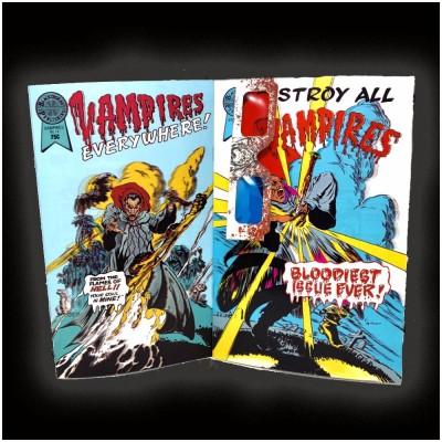 The Lost Boys - Prop Replica Comic Books - Lenticular / 3D Set
