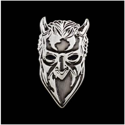 GHOST Nameless Ghoul Antique Nickel Enamel Pin