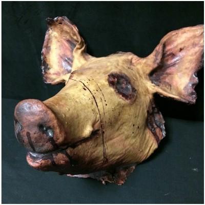 Deluxe Pig Head Prop