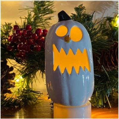 Ceramic MiniSnowman Pumpkin - Crunch