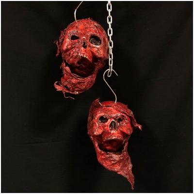 Hanging Bloody Skull