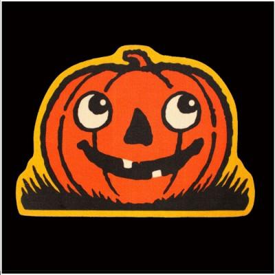 Creepy Co. Beistle Jack O' Lantern Rug