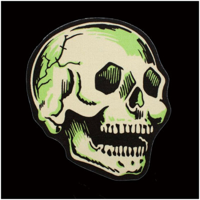 Creepy Co. Beistle Skull Rug