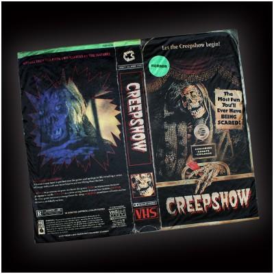Creepy Co. Creepshow VHS Blanket