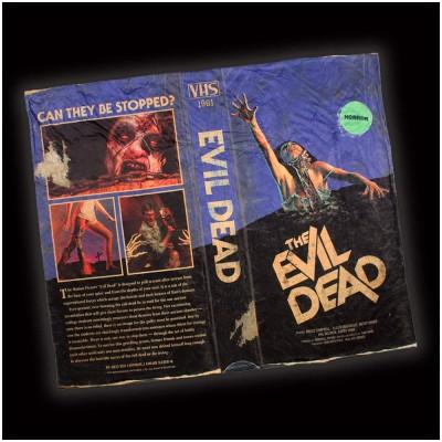 Evil Dead VHS Throw Blanket
