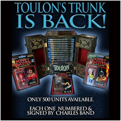 Puppet Master Toulon's Trunk - numbered & signed by Charles Band