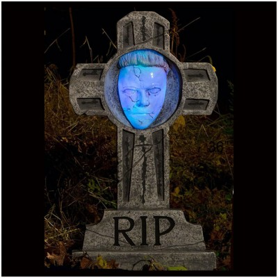 Michael Myers Light Up Tombstone