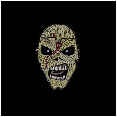 Iron Maiden Eddie Enamel Pin