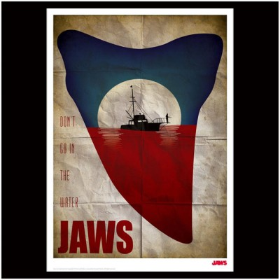 JAWS Limited Edition Tooth Print
