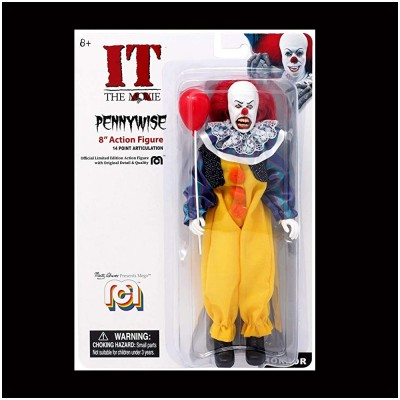 Mego Pennywise 8-Inch Retro Action Figure
