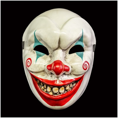 Murdershow - Gnarly the Clown Mask - PRE ORDER