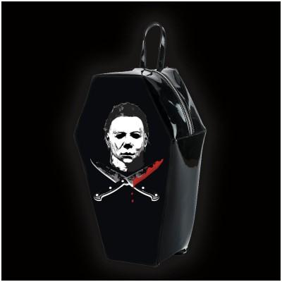 Halloween 2 Michael Myers Coffin Backpack