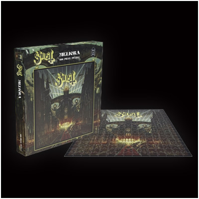 Ghost Meliora Rock Saws 500 piece Puzzle