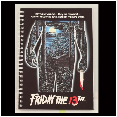 Friday the 13th Notebook