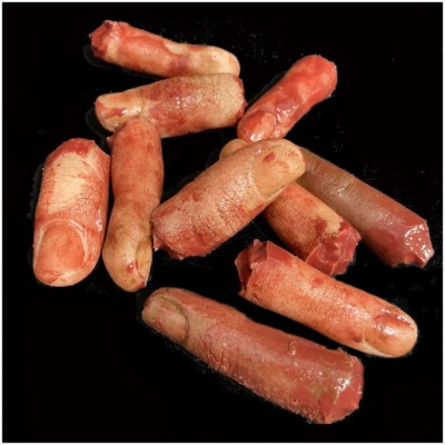 Silicone Severed Finger - Pack of 5