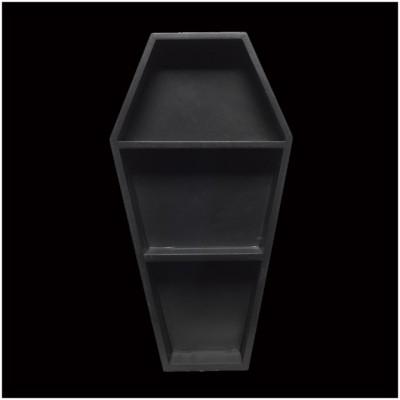 Sourpuss Coffin Wall Shelf - Black