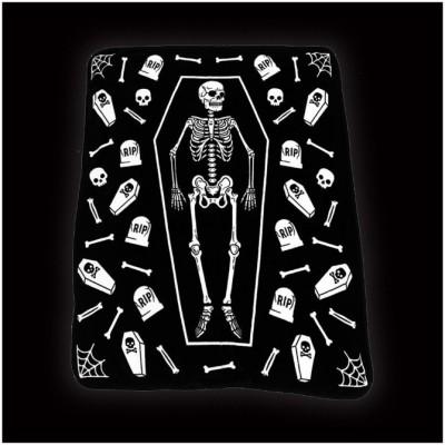 Sourpuss Skeleton Blanket