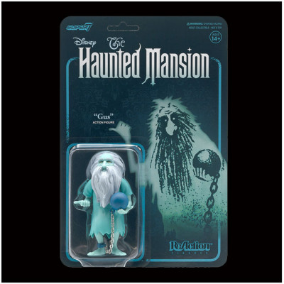 Super7 ReAction Figure - Disney Haunted Mansion, Gus PRE ORDER