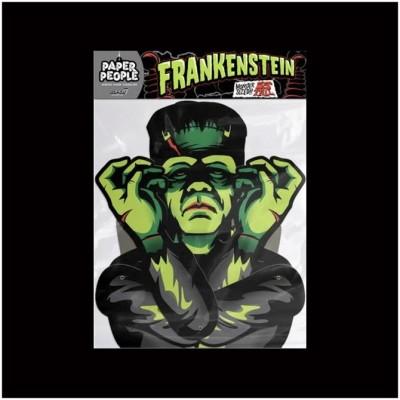 Super7 Universal Monsters Paper People - Frankenstein