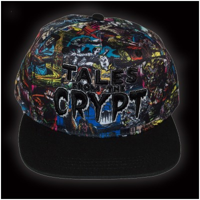 Kreepsville 666 Tales From The Crypt Covers Baseball Hat