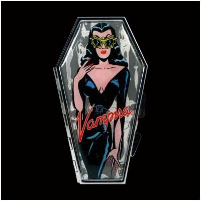 Vampira Comic Ghoul Coffin Compact