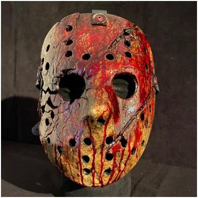 AUZ VS Hockey Mask - Bloody Version