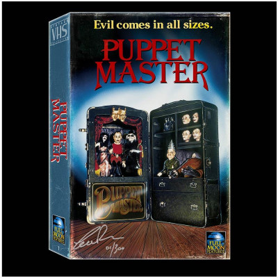 Puppet Master Signed VHS style Blu/DVD Boxset