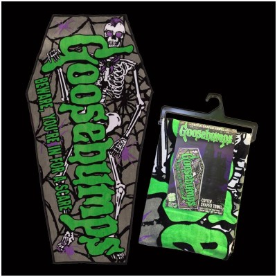 Kreepsville 666 Goosebumps Coffin Towel