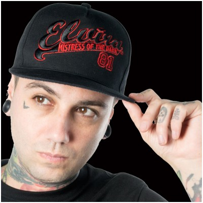 Kreepsville 666 Elvira Team Elvira Baseball Hat