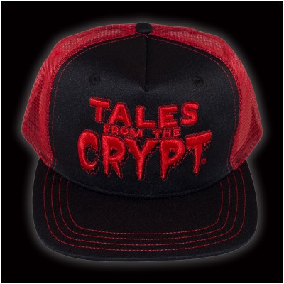 Kreepsville 666 Tales from the Crypt Red Trucker Cap