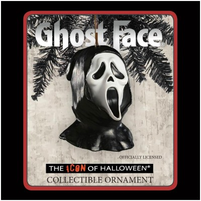 Horrornaments - Ghost Face Mask Ornament