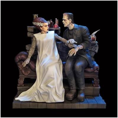 Moebius Bride of Frankenstein and Monster Model Kit