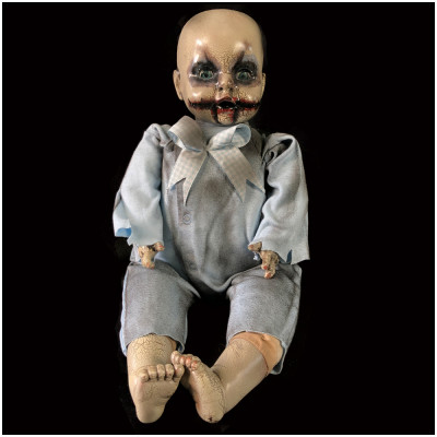 Deluxe OOAK Horror Doll - Baby Blue