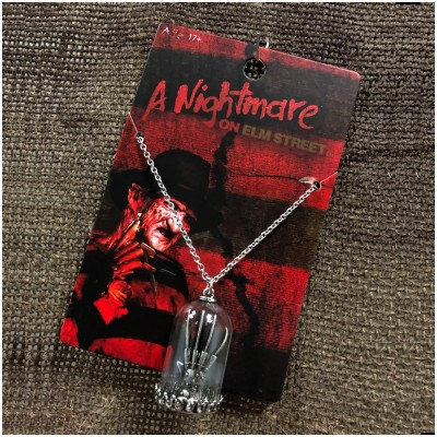 Nightmare on Elm Street Freddy Glove Necklace