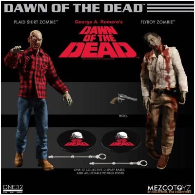 Mezco One:12 Collective Dawn of the Dead Box Set