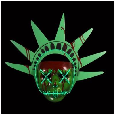 The Purge: Election Year Lady Liberty Light Up Mask