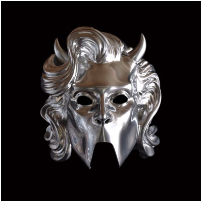 Ghost Chrome Ghoulette Nameless Ghoul Mask