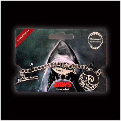 Licensed Jaws Charm Bracelet
