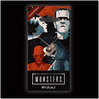 Licensed Universal Monsters - Stake Through the Heart Necklace