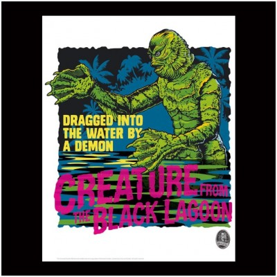 Limited Edition Universal Monsters Print - Creature from the Black Lagoon