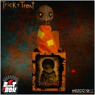 MEZCO Burst a Box: Trick R Treat Sam