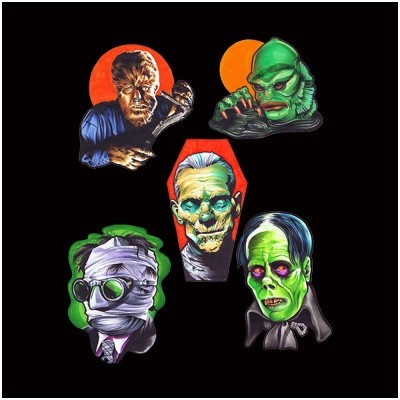 Universal Classic Monsters Wall Decor - Series 1