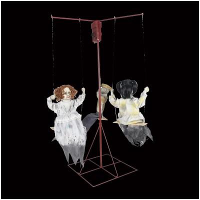 Animated Ghostly Dolls Go-Round