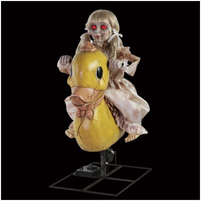 Animated Rocking Ducky Doll