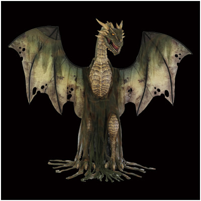 Animated Forest Dragon